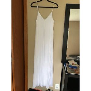 White Maxi Dress from Express